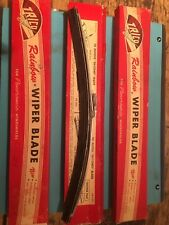 RARE NOS JAGUAR E-TYPE SIE 3.8 EARLY 1961  P R RAINBOW TRICO WIPER BLADE XKE NIB