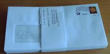 32 Plusbriefe Format C5/6 à 0,35 Euro (Infopost), alle noch frankaturgültig
