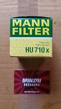 OEM MANN HU710x OIL FILTER FITS 1.2 LTR 3 CYLINDER VW FOX POLO SEAT IBIZA