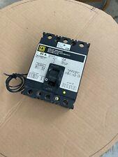 Square D Circuit Breaker 80 Amp 480V 3 Pole 120-240V Shunt Fal340801021
