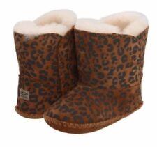 UGG Australia Designer Cassie Leopard Boot M 12-18 Months BNIB RRP £50
