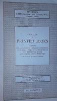 1976 Catalogue Di Vendita SOTHEBY'S London Catalogue Of Stampato Books
