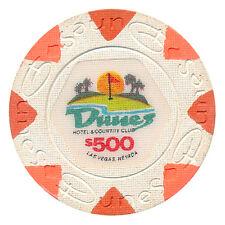 Vintage Dunes Obsolete Casino $500.00 House Mold 1980's Paulson Chip Las Vegas