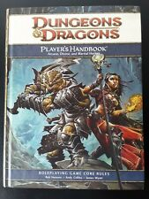 Player's Handbook 4th Edition Dungeons and Dragons wotc dnd adnd phb