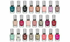 Sally Hansen Complete Salon Manicure Fingernail Polish you Choose the Color