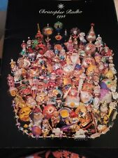 Christopher Radko 1993 Ornament Catalog 29 Pages