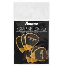 Ibanez PPA14HSGYE - 6 médiators Grip Wizard série Sand Grip jaune - heavy - 1.0
