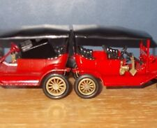 Matchbox Yesteryear Y1-2 Model T Ford Car Red Small Wheels Issue 5