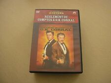 "DVD western,""REGLEMENT DE COMPTE A OK CORRAL"",burt lancaster,kirk douglas"