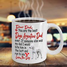 Dogo Argentino dog,Argentine Dogo,Argentine Mastiff,Dogo,Dogo dog,Cup,Mugs