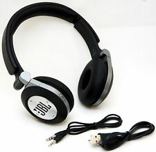JBL E40BT BLACK Synchros Bluetooth Folding Stereo Headphones w/Mic iPad/4/3/2/1