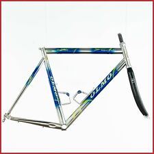 OLMO SUPER LIGHT COLUMBUS EGO STEEL CARBON FRAME VINTAGE 90s ROAD RACING AERO