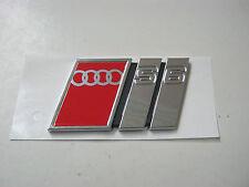 Audi s6 c4 emblema bordado 4a5853735e portón trasero Limousine a6 v6 v8 20v Turbo