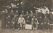 Soldier group French POW Prisoners of War Friedrichsfeld 1914 1915 Bridgwater UK
