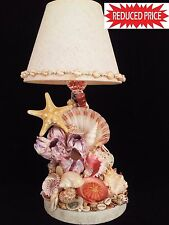 Mother's Day Gift!! Unique Sea shell Lamp . Cuban Art