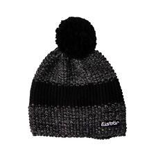 Eisbär Styler Pompon Mütze grau schwarz