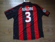 AC Milan #3 Maldini 100% Original Jersey Shirt XL 2000/01 Home Still BNWT