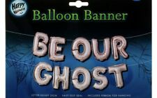 Be our ghost Halloween party balloon decoration bunting Beauty & The Beast