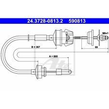 ORIGINAL ATE Kupplungsseil Peugeot 205 309 Bj.85-