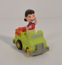 "2.5"" Lucy Push N Go Truck 1989 McDonalds PVC Action Figure 1966 Peanuts Charlie"