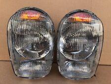Pair of Euro Style Headlights W/ Bosch Lens for Mercedes 230SL 250sl 280sl w113