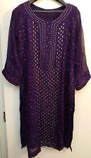 Desi Pakiatani/Indian Shalwar Kameez Fancy Partywear