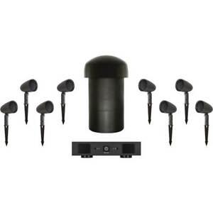 Sonance Garden Series 8.1 Outdoor Speaker System with Amp Brand New!!