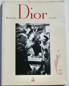 Christian Dior vintage 'New Look' Paris couture fashion large format photo book