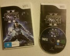 Star Wars: The Force Unleashed 2 II Nintendo Wii  Complete - Fast Free Post! VGC