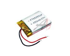3.7V 450 mAh Li-polymer battery Li-Po ion 652531 for MP3 GPS PAD PDA Bluetooth