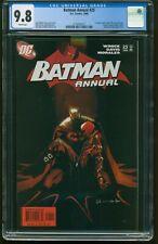 Batman  ANNUAL # 25  2006 CGC-GRADED 9.8 ORIGIN Jason Todd'S RETURN  DC ID G-361