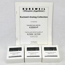 Kurzweil Classic Analog Collection 31 Disk Set - DANL-30