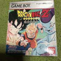Dragon Ball Z Goku Gekitouden  Nintendo Game Boy GB Bandai Used Japan 1995 F/S