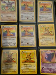 Pokemon Rare - 38x Fossil Rares - Hard To Find Lot