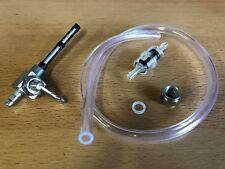 Benzinschlauch Benzinfilter Filter Benzinhahn M12x1 Zündapp Mofa ZR ZD ZL CS
