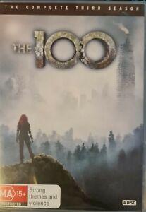 The 100 : Season 3 (DVD, 2016, 4-Disc Set) Region 4