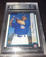 Corey Patterson 1999 Bowman Chrome Rookie Card #352 Cubs BGS Grade 9 [DM]