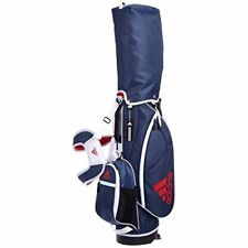 adidas Golf Japan AWT56 Junior Caddy Bag Stand Type 7 X 39 Inch Navy