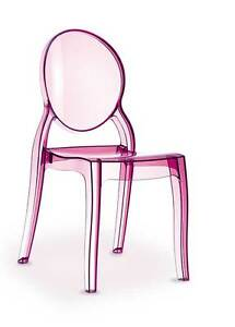 Plexiglass Acrylic Ghost Chair Chair Victoria Crystal (No China Ware = Quality)