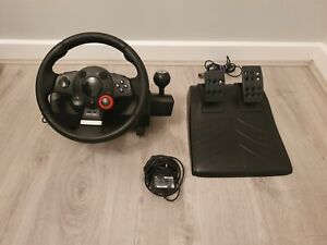 Logitech Driving Force GT Steering wheel Playstation 3 and PC
