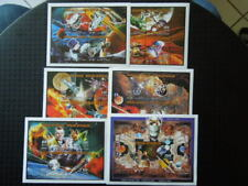 G634  CENTRAL AFRICAN  REP 1997 SPACE  6  X  M/S  MNH