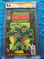 Green Lantern v3 #50 - DC - CGC SS 9.6 - Signed by Ron Marz - Glow-in-the-dark