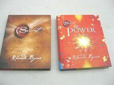 Lot 2 Rhonda Byrne Books: The Secret + The Power Both HC/DJ Fast Ship