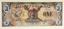 Disney Dollars 2011 Pirates Queen Anne's Revenge $1 F Series Mint