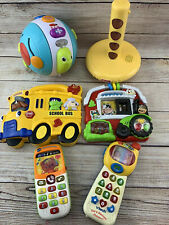 Baby Toy Lot Electronic Sound Music Lights Interactive Vtech Fisher Price CLEAN