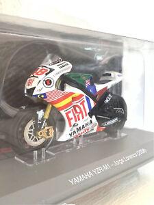 NEUF 1/18 Moto Altaya LORENZO Yamaha 2008 Valencia GP /rival rossi marquez