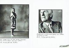 Publicité Advertising  0817 1994  Hermès   tapis bain Leopard & cravate (2p)
