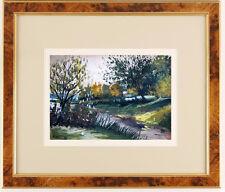 Robert Wakeham Pilot - Old watercolor !!! Canadian painter !!! BEST PRICE !!!