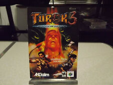 Turok 3: Shadow Of Oblivion (Nintendo 64 2000) Instructions Manual Only Rare