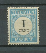 Nederland Port  3 D I ongebruikt